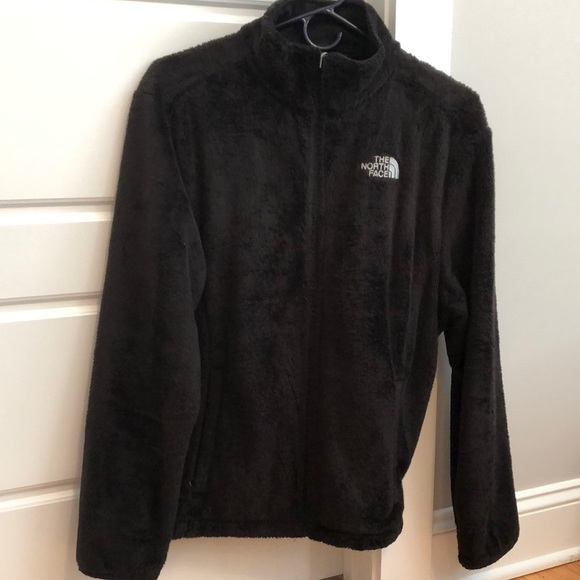 The North Face Osito Jacket- Black- Size L